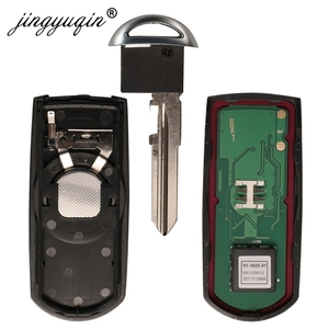 Image 5 - Jingyuqin 433 mhz id49 2/3 botões chave inteligente apto para mazda CX 3 CX 5 axela atenza modelo SKE13E 01 SKE13E 02 carro de controle remoto