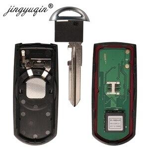 Image 5 - jingyuqin 433Mhz ID49 2/3 Buttons Smart Key Fit for MAZDA CX 3 Axela CX 5 Atenza Model SKE13E 01 SKE13E 02 Car Remote Control