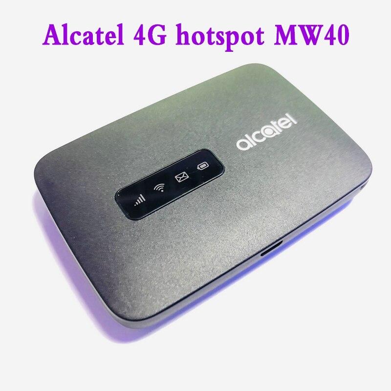 Unlock  Alcatel MW40 MW40  Wireless 4G Router  4G LTE WiFi Hotspot 150Mbps