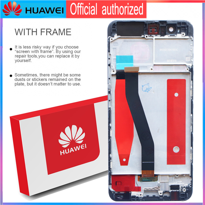 Image 3 - Original 5.1 Display with Frame Replacement for Huawei P10 LCD Touch Screen Digitizer Assembly VTR L09 VTR L10 VTR L29-in Mobile Phone LCD Screens from Cellphones & Telecommunications on