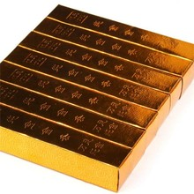 Lote de 100 unidades de lingote de oro, para dinero, antiguo, fantasma chino, envío directo