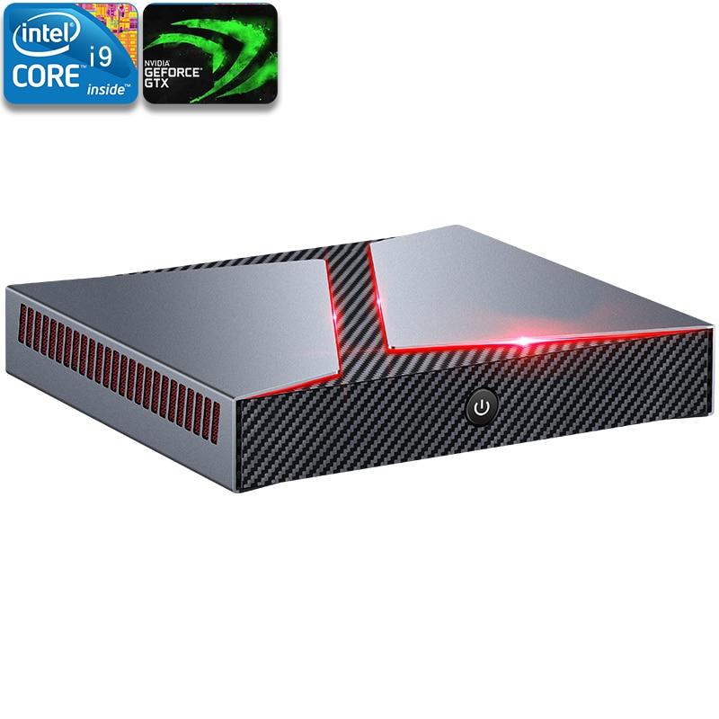 Chatreey G1 mini-pc intel core i5 i7 i9 6 núcleos com nvidia GTX1650 10 4G gráficos WINDOWS Linux desktop de jogos computador