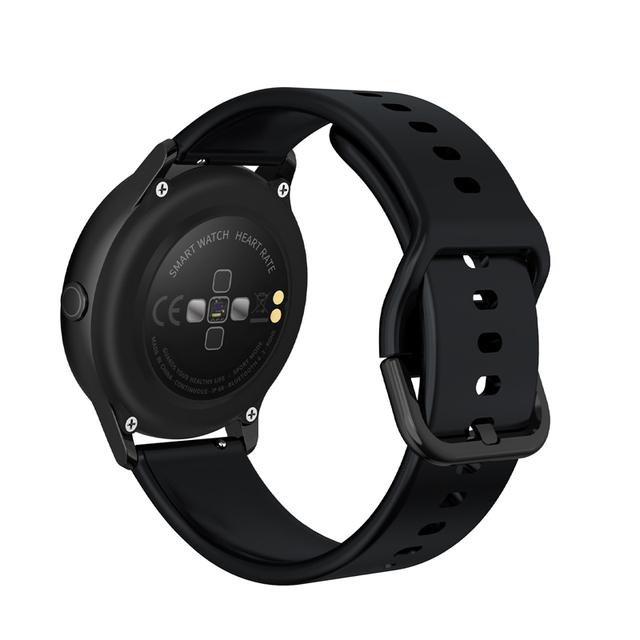 KSUN KSR905 Smart watch IP68 waterproof Tempered glass Activity Fitness tracker Heart rate monitor Sports Men women smartwatch