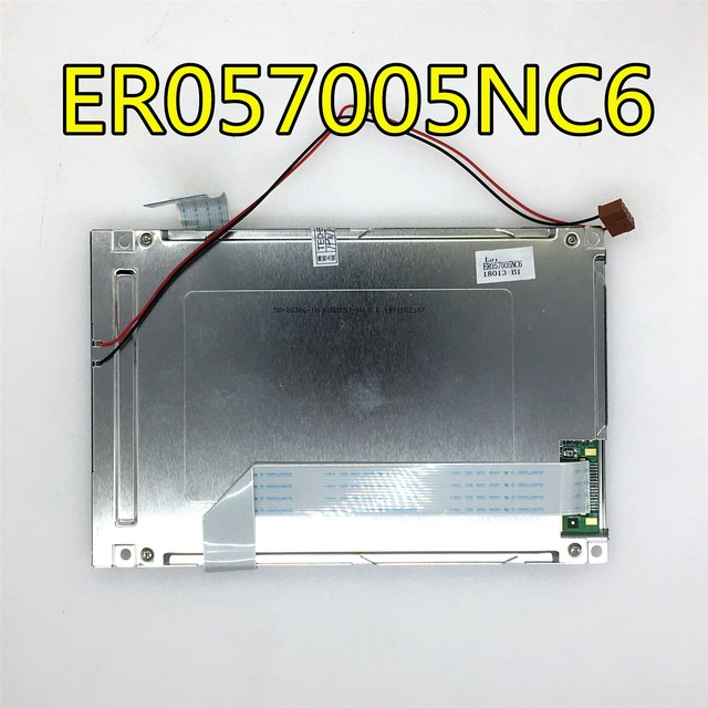 """Can provide test video , 90 days warranty   5.7"""" 320*240 LCD PANEL ER057005NC6"""