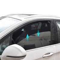 Przedni tylny magnetyczny do okna kurtyna Visor dla Nissan x trail T32 2015 2016 parasol przeciwsłoneczny boczne osłony przeciwsłoneczne dla x trail 2017 2018 w Osłony przeciwsłoneczne okna bocznego od Samochody i motocykle na