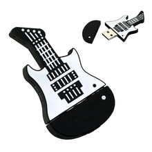 Instrumento Musical de la guitarra memoria flash usb Pendrive 4GB 8GB 16GB 32GB 32GB 64gb 128, 256 GB Pen drive mini U disco usb2.0 regalo clave