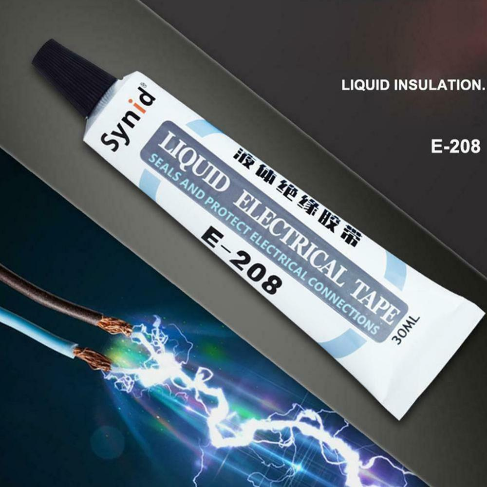 30ml Liquid Insulating Waterproof Liquid Tape Charging Universal Repair Data Cable Repair Anti-UV Insulation Electrical Tape