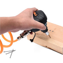 Martelo pneumático mini air palm nailer arma carpintaria ferramenta de impacto automático de aço magnético martelo de ar do prego martelo