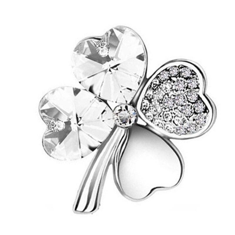 Ladies High-end Clover Four-leaf Clover Brooch for Wedding Bridal CLOVER JEWELLERY
