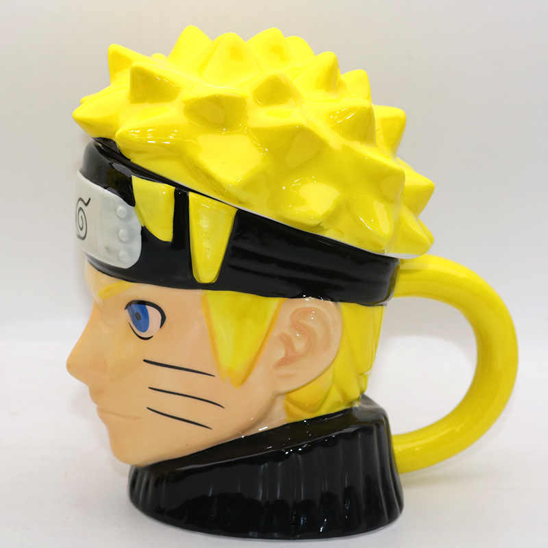 Creative Naruto  Mug 3D Coffee And Drink Cup High Temperature Manufacture Quality Ceramics Nice Quality