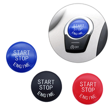 цена на 1 PCS Modified Button Switch Decorative Original Perfect Fit For BMW 3 5 6 7 Series X3 F10 F18 F02 One Button Start Button Cover