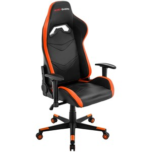 Mars Gaming MGC3, proffesional Chair Gaming ergonomic, Iinclinación and height adjustable, Orange