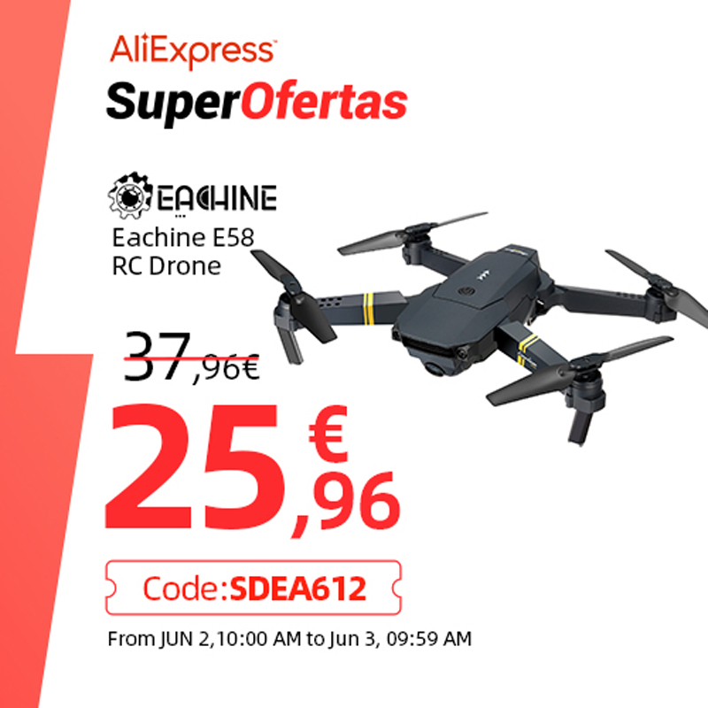 Eachine E58 WIFI FPV With Wide Angle HD 1080P/720P/480P Camera Hight Hold Mode Foldable Arm RC Quadcopter Drone X Pro RTF Dron|rc quadcopter|quadcopter rtfquadcopter rc - AliExpress