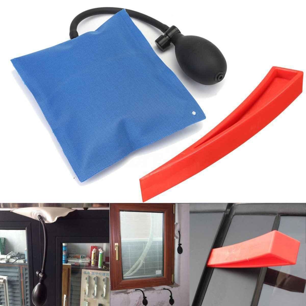 Hao zlew wsparcie pozycjonowania poduszki powietrznej poduszka powietrzna drzwi i okna instalacji narzędzie do poziomowania powietrza torba z mocowanie klinowe zestaw
