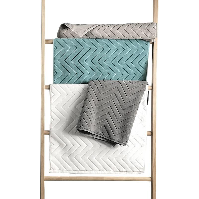 Confortável pouco pés esteira de banho luxo hotel casa toalha de algodão grosso antiderrapante capacho absorvente esteiras