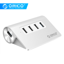 ORICO Micro USB Hub High Speed 4 Ports USB Hub Extension Adapter USB Splitter Power Interface For PC Computer Accessories