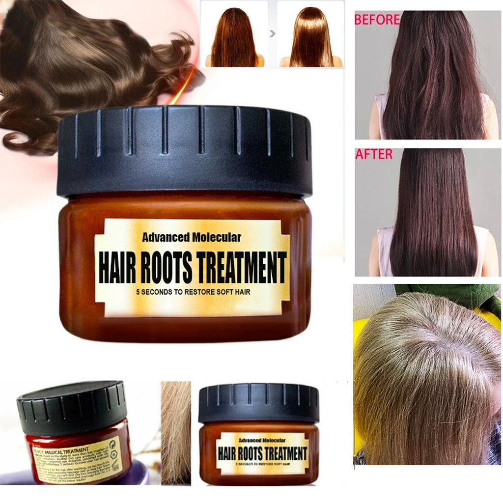 Hair Detoxifying Hair Mask Advanced Molecular Hair Roots Treatmen Recover Hair Care Mask High Quality New 5