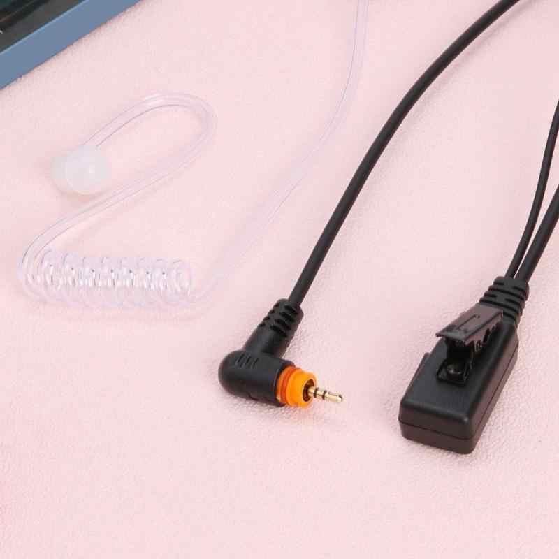 Air Akoestische Buis Headset Mic L Buigen Oortelefoon voor Motorola Radio SL1M SL1K SL300 SL7500 Digitale Walkie Talkie