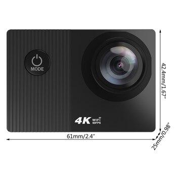 4K 60fps Wifi Action Camera Waterproof Helmet 2.0in Touch Screen Remote Control 1