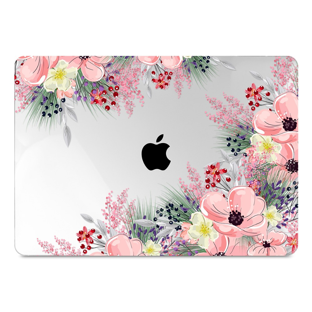 Floral Printing Hard Case for MacBook 98