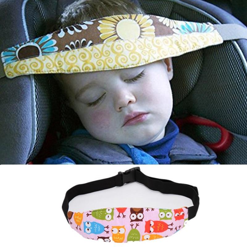 Baby Car Safety Seat Sleep Positioner Infants Toddler Head Support Pram Stroller Accessories Children Adjustable Fastening Belts