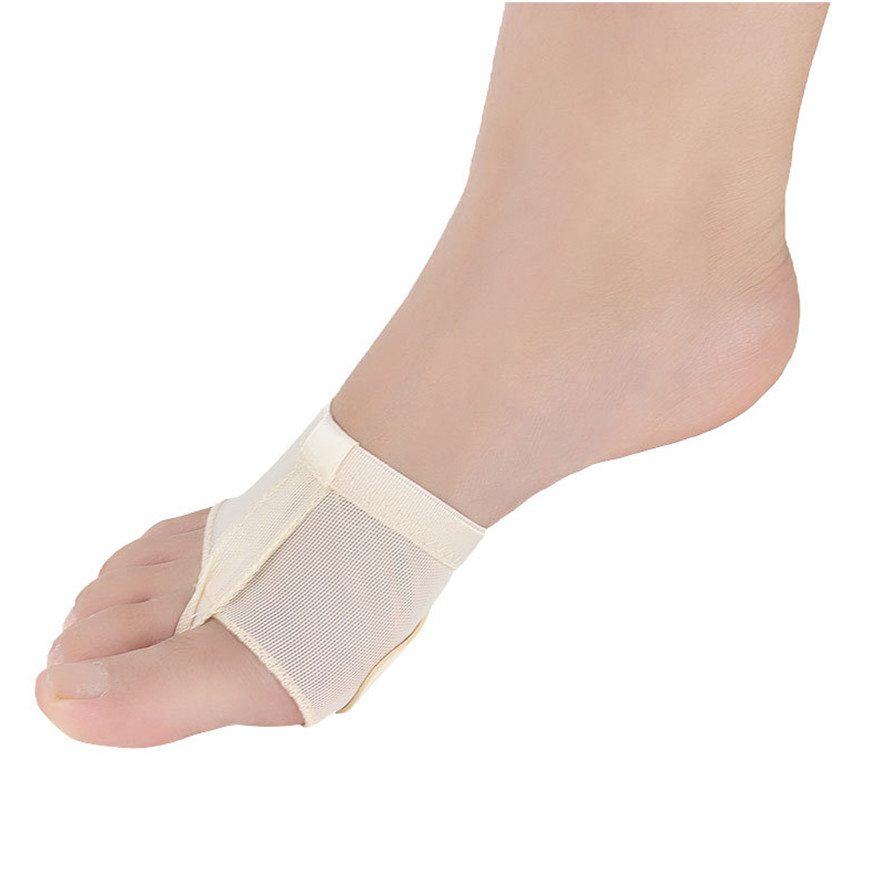 USHINE Yoga Belly Ballet Dance Toe Pad Practice Shoes Foot Thong Care Tool Half Sole Gym Socks Ballet Dance Shoes woman
