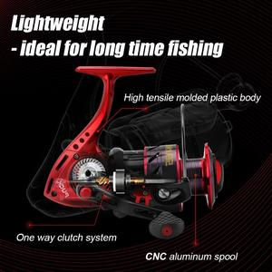 Image 5 - SeaKnight PUCK ARCHER Spinning Reel 4.9:1 5.2:1 Fishing Reel 13KG Max Drag Power Spinning Wheel Long Casting Fishing 2000 6000