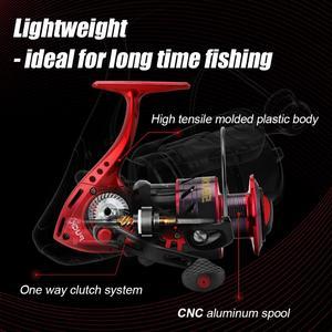 Image 5 - SeaKnight PUCK ARCHER Spinning Reel 4.9:1 5.2:1 angeln Reel 13KG Max Drag Power Spinnrad Lange Casting Angeln 2000 6000