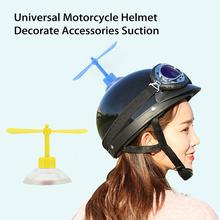 1Set Universal Motorcycle Helmet Decorate Accessories Suction Cup Propellers Plastic 4Colors