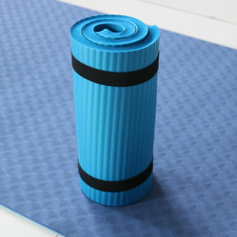 Yoga Mat Thick NBR Yoga Pad for Workout Training Abdominal Exercise 16