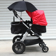 Baby Parasol Umbrella Buggy Pushchair Pram Adjustable Stroller Umbrellas Shade Canopy Sun Rain Brolly Kids Pram Shade Holder(China)