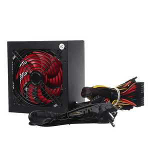 Fan Power-Supply Computer PC ATX 650W Sata-Gaming NEW 12V 20/24pin Passive-Pfc Silent