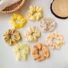 Элегантная цветная резинка для волос в Корейском стиле эластичная