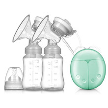 Breast-Pump Milk-Bottle Powerful Electric Feeding Baby Double with Infant USB Bpa-Free