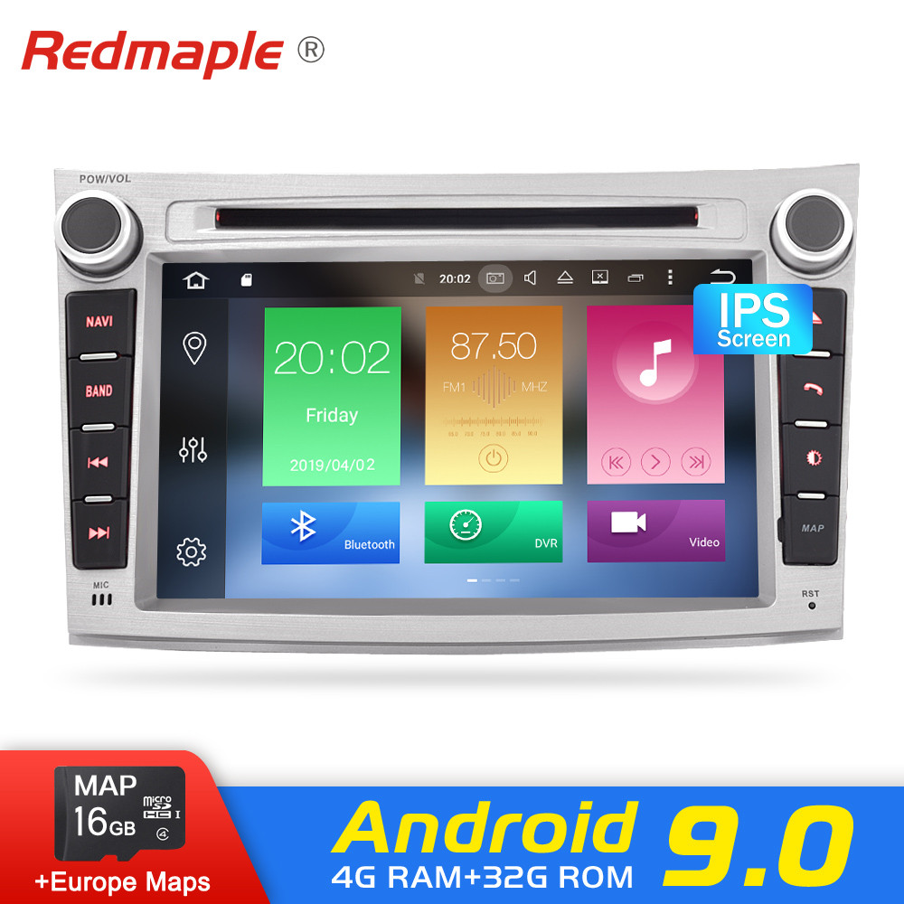 Android 9.0 Car radio GPS Navigation DVD Player Multimídia Para Subaru Outback 2008 2009 2010 2011 2012 2013 Auto Áudio fone de ouvido estéreo