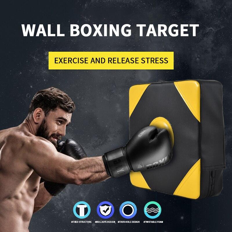 Mga resulta ng larawan para sa Wall Punching Pad Boxing Punch Target Training Sandbag Sports Dummy Punching Bag Fighter Martial Arts Fitness