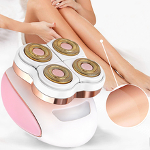 Women Leg Electric Epilator Body Facial Hair Remover Female