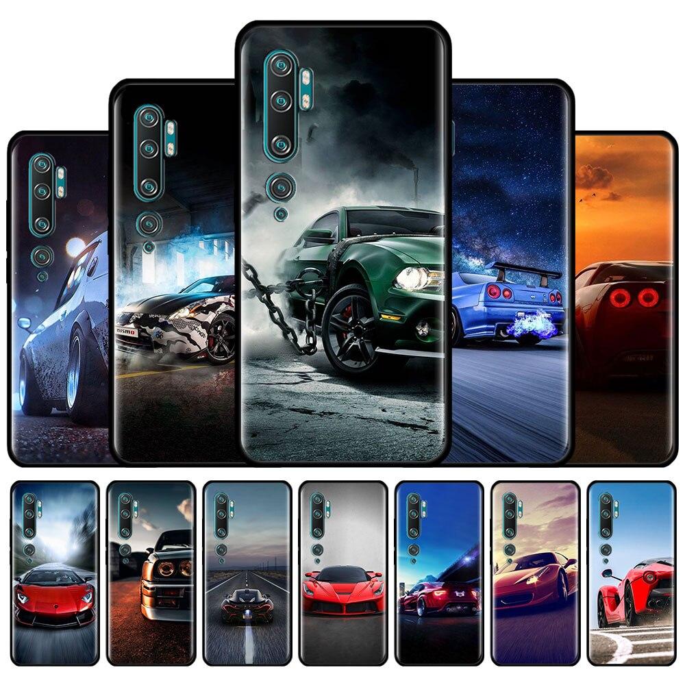 Funda de silicona para Xiaomi Mi nota 10 Lite Mi 10 Poco X3 X2 M2 F2 Pro 9T 9 A1 A2 Lite A3 cubierta Coque auto carcasa del teléfono