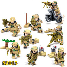 Special Forces Military SWAT Army Weapon Soldier Marine Corps Building Blocks Compatible LegoINGlys Figures Toy Christmas Gift