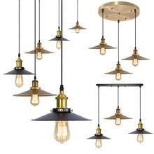 Vintage Industrial Pendant Lights Retro Edison Hanging Lamps American Loft Style Iron Lamp For Restaurant Kitchen room