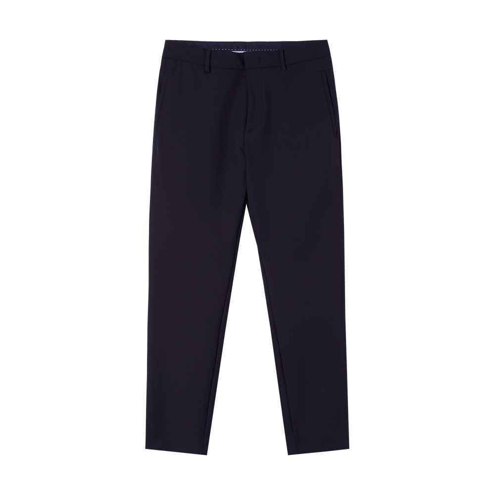 Metersbonwe 男性足首パンツ新秋カジュアルなズボンストレートチノパンファッションジョギングパンツ男性ブランドのズボン高品質