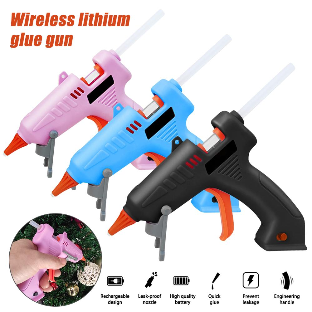 Melt Glue Gun Cordless Rechargeable