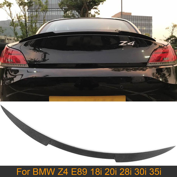Carbon Fiber Rear Trunk Spoiler Wing for BMW Z4 E89 18i 20i 28i 30i 35i 2009 - 2015 Car Rear Trunk Boot Lip Wing Spoiler image
