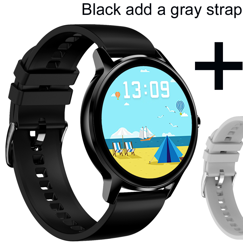 Black add gray