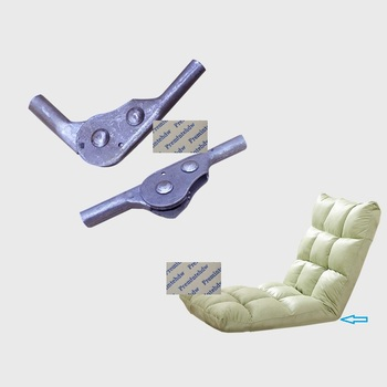 4 Unids/lote Sofá Plegable Tumbona Mecanismo De ángulo Trasero Bisagra De Trinquete 3 5 Posiciones Soporte Soldado De Reversa
