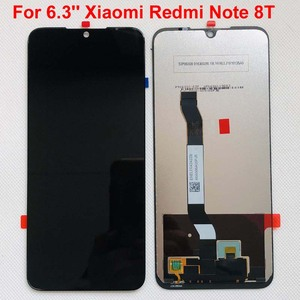 Image 5 - 100% 새 원본 + 프레임 6.3 xiaomi Redmi 참고 8T LCD 디스플레이 화면 교체 LCD 터치 스크린 디지타이저 10 터치