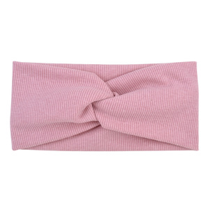 Image 5 - Winter Women Cotton Headband Turban Hairband  Solid Color Girls Knot Hair Accessories Twisted Makeup Elastic Hair Bands Headwrap