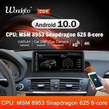 Snapdragon Android 10 AUTO Radio für BMW X4 F26 X3 F25 2011  2017 stereo GPS Navigation 1920*720P bildschirm multimedia stereo 2 din