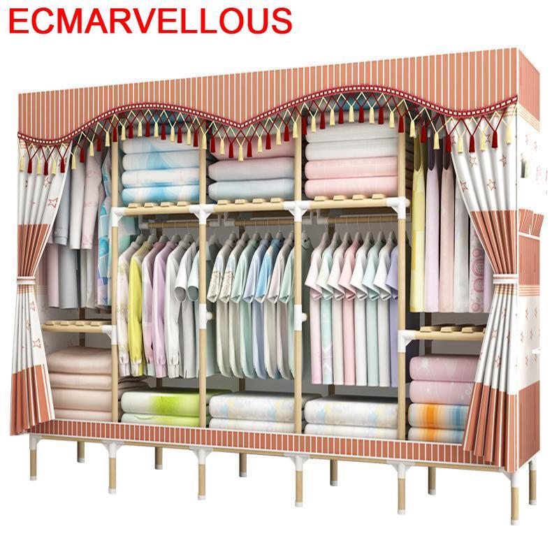 Armario Ropero Moveis Dressing Penderie Chambre Rangement Gabinete Cabinet font b Closet b font Guarda Roupa