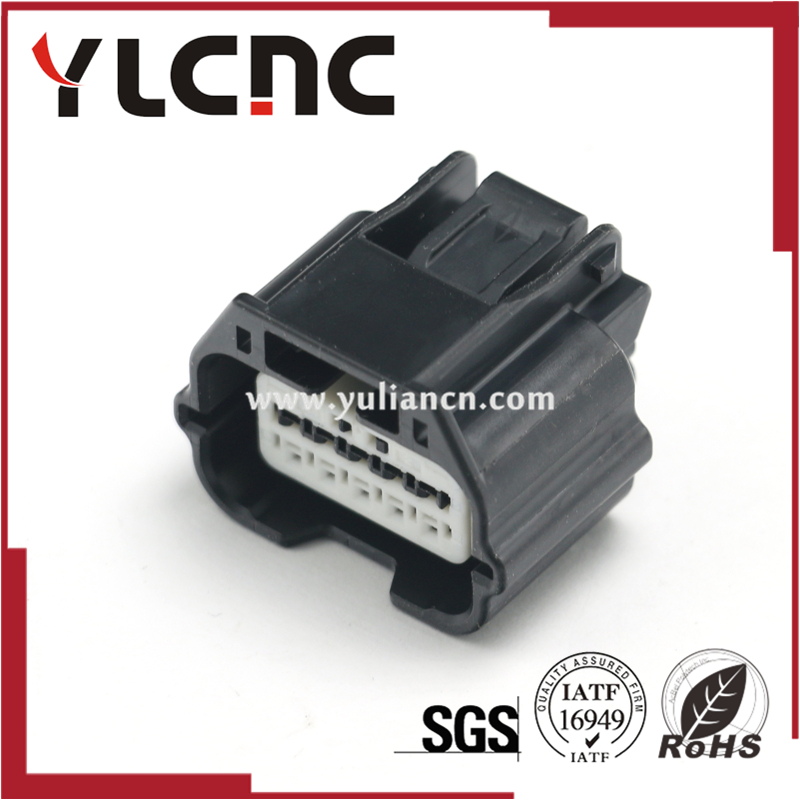 High quality 10 Pin female electric plug auto waterproof wiring connector 7283-8856-30 image